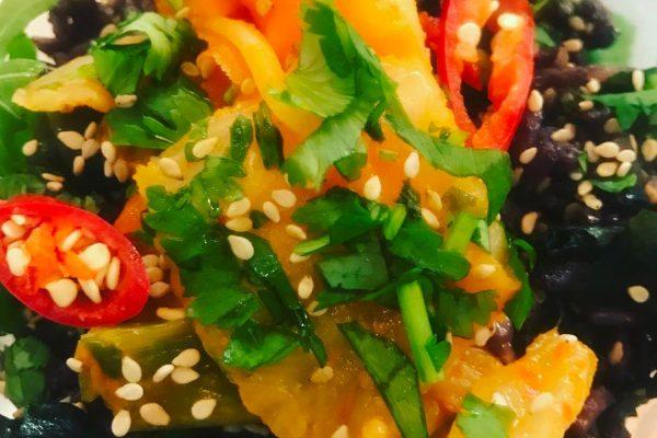 Kimchi Salad