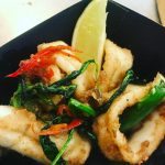 Salt & Chilli Squid, by Chef Adel Thomas